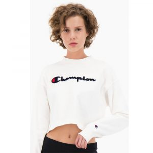 Champion Velvet Short Sweat Damen Sweatshirt