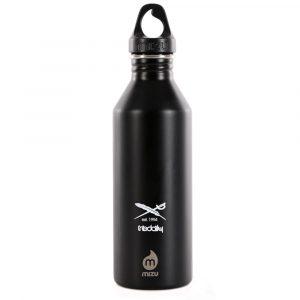 Iriedaily Bye Bye Cat Bottle Trinkflasche 0,8 Liter schwarz