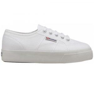 Superga 2730/50 COTU Plateau Street StyleSuperga 2730/50 COTU Plateau Street Style Damen Sneaker 2020 weiss