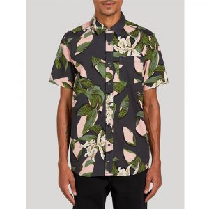 Volcom Cut Out Floral Hemd Herren