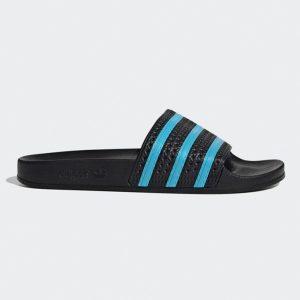 Adidas Originals Adilette Badeschuhe Herren schwarz