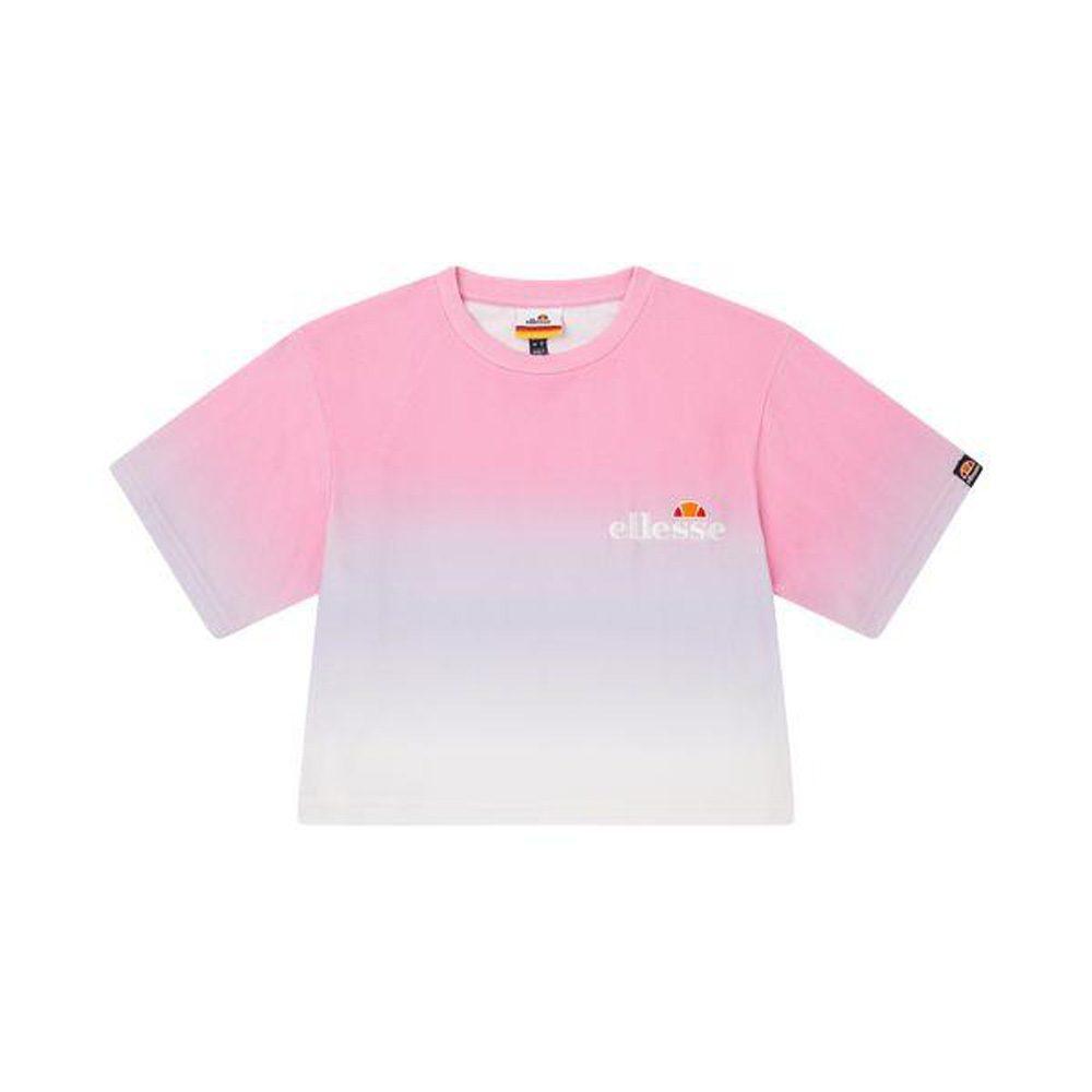 Ellesse Rertacrop T- Shirt Damen pink
