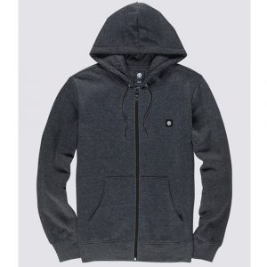 Element 92 Zip Up Hoodie Kapuzenpullover grau