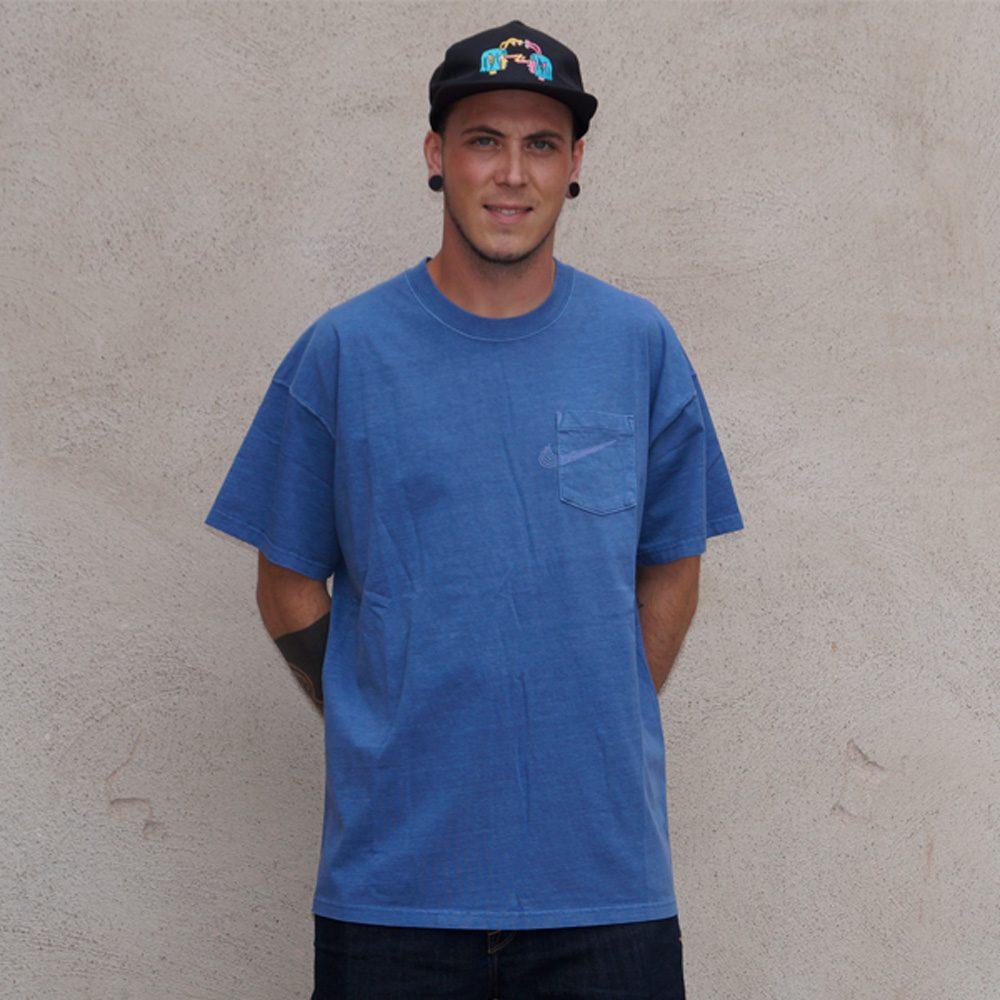 Nike SB Pocket Skate T- Shirt Herren blau