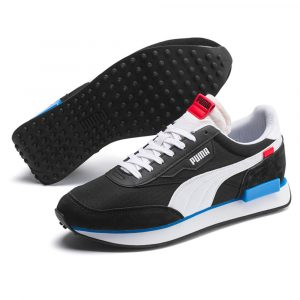 Puma Future Rider Play on Trainer schwarz/weiß