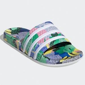 Adidas Originals Adilette Shower Damen blau