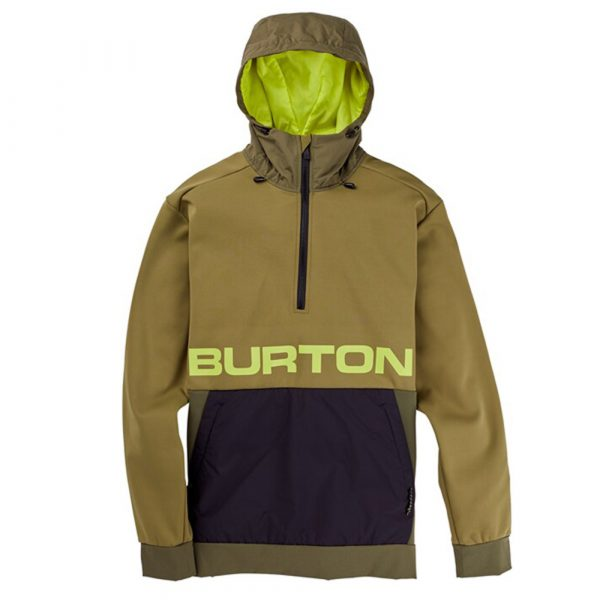 Burton Crown Bonded Performance Kapuzen Pullover Herren Fleece