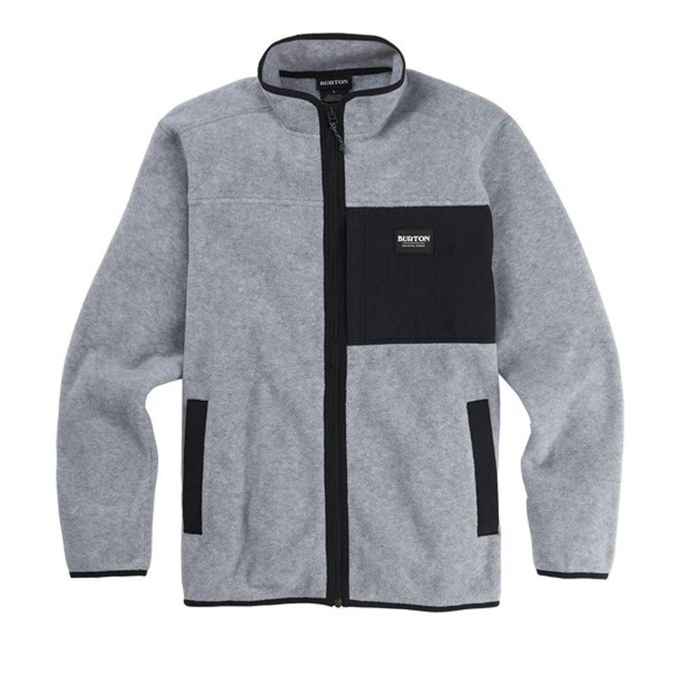Burton Snap Full Zip Fleece Shirt Herren Hemd