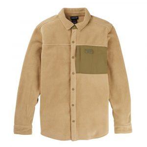 Burton Snap Up Heart Fleece Shirt Herren Hemd