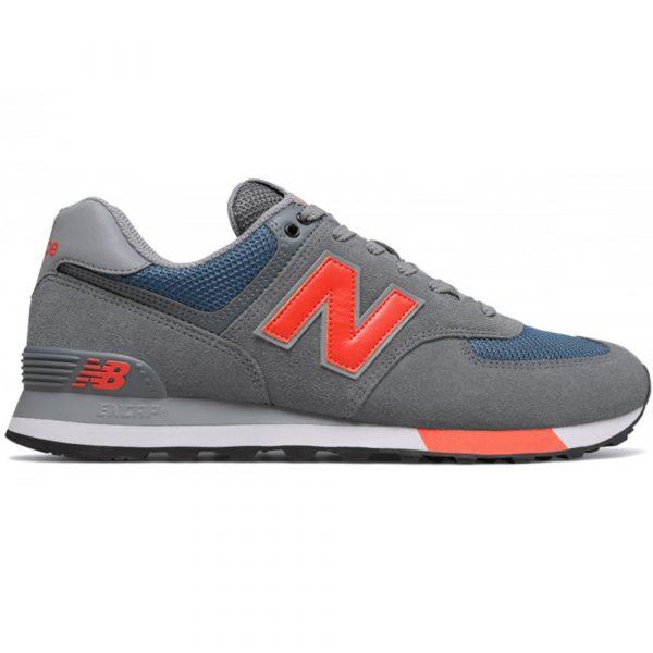 New Balance ML574 NFO Herren grau/blau