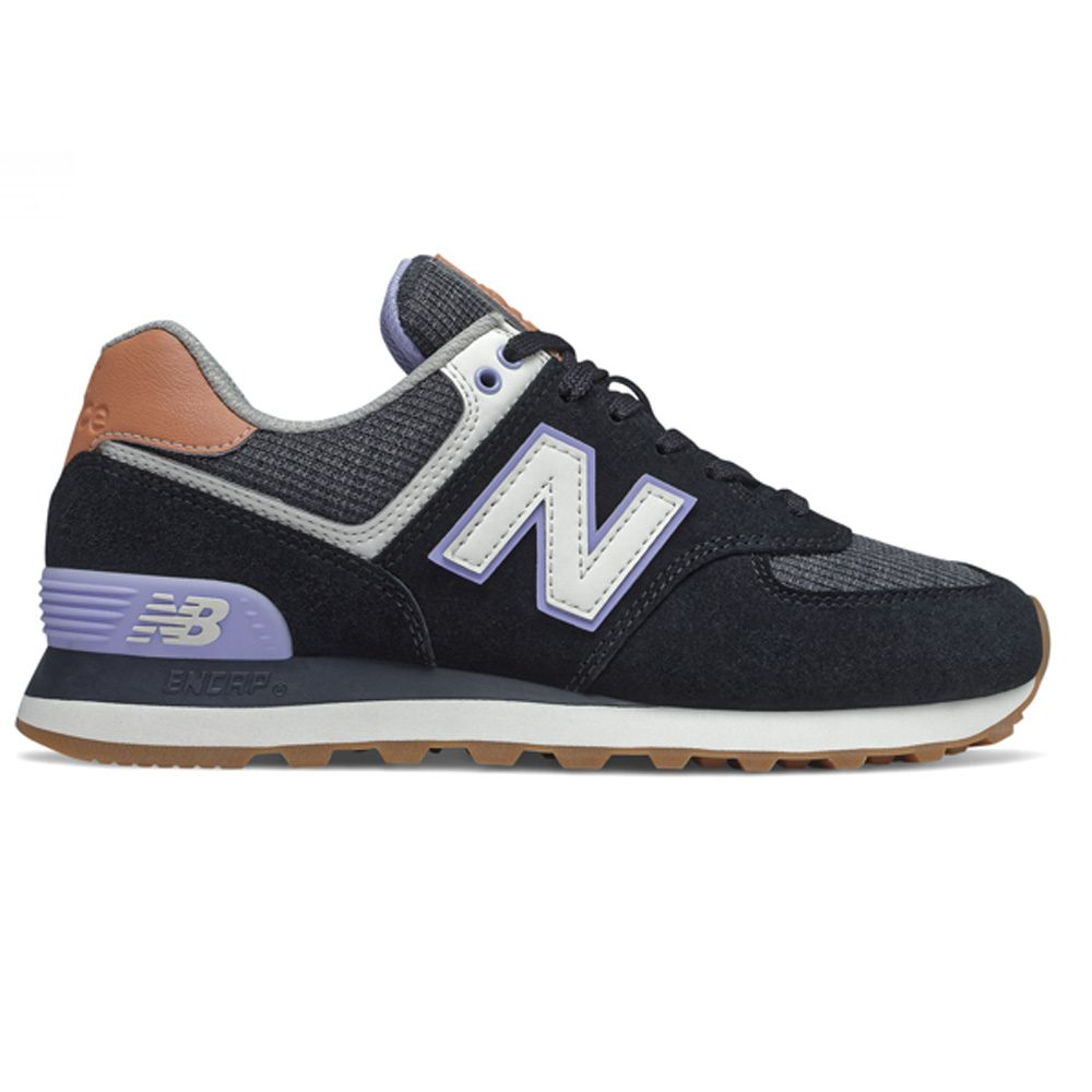 New Balance WL574 BCX Damen Sneaker schwarz