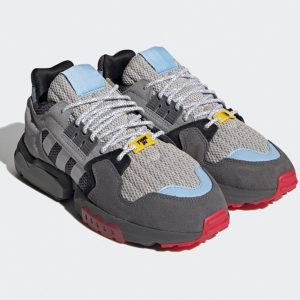 "Adidas Originals ""Ninja"" ZX Torision Schuhe Herren grau"