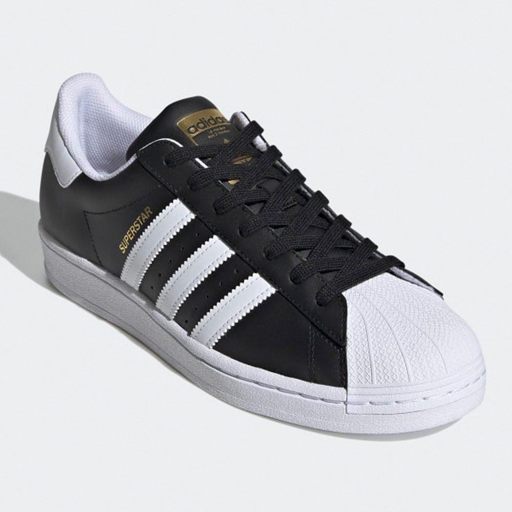 Adidas Originals Superstar Sneaker schwarz/gold