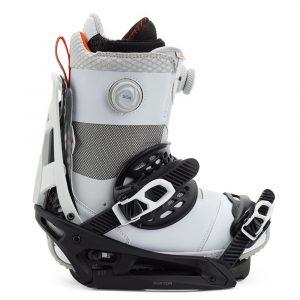 Burton Genesis EST Channel Snowboardbindung Herren 2021 schwarz/weiß