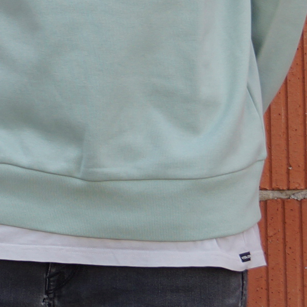 Carhartt WIP Script Embroidery Sweatshirt Herren grün
