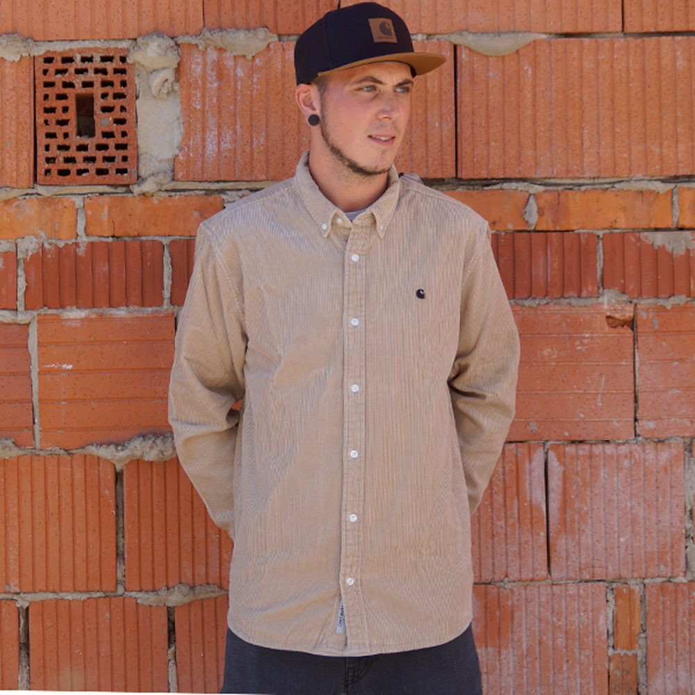 Carhartt WIP Madison Cord Shirt Herren Hemd