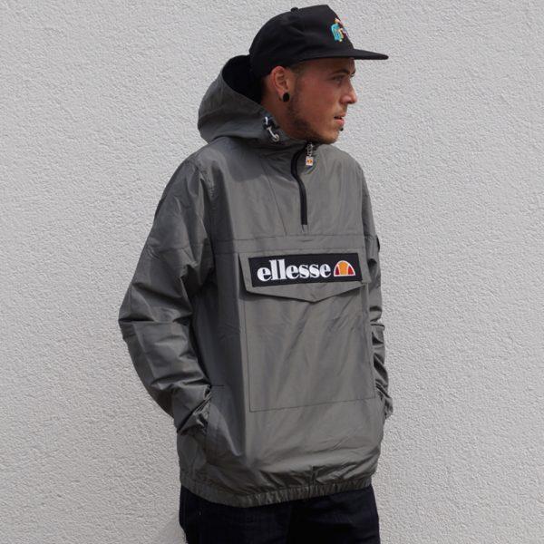 Ellesse Mont 2 Jacket OH Windbreaker Herren Schlupfjacke