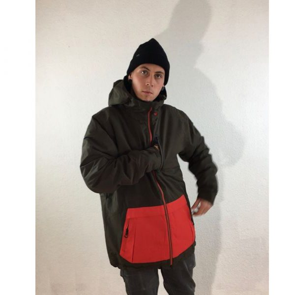 Volcom Mens Deadly Stones Insulated Snowboardjacke