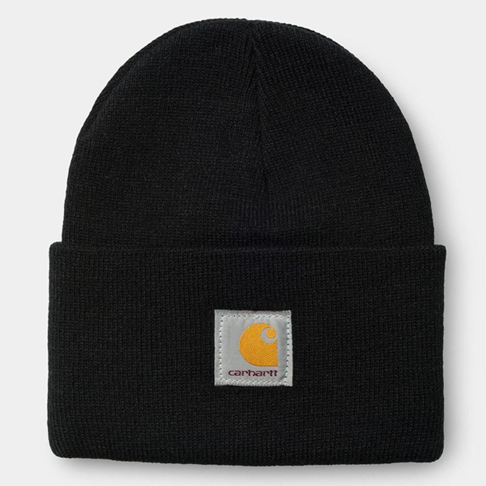 Carhartt WIP Short Watch Hat Beanie acrylic black