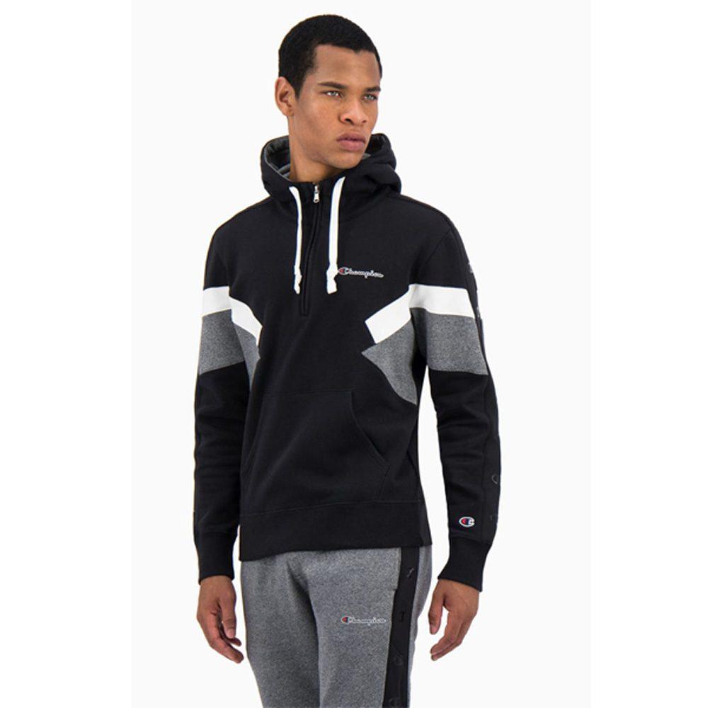 Champion Color Block Fleece Half Zip Hoodie Herren Kapuzenpullover