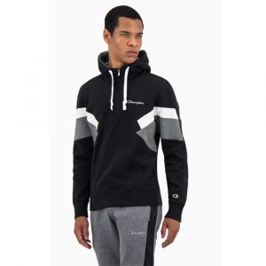 Champion Color Block Fleece Half Zip Hoodie Herren Kapuzenpullover