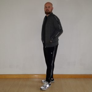 Champion Trainingsanzug Herren grau/schwarz