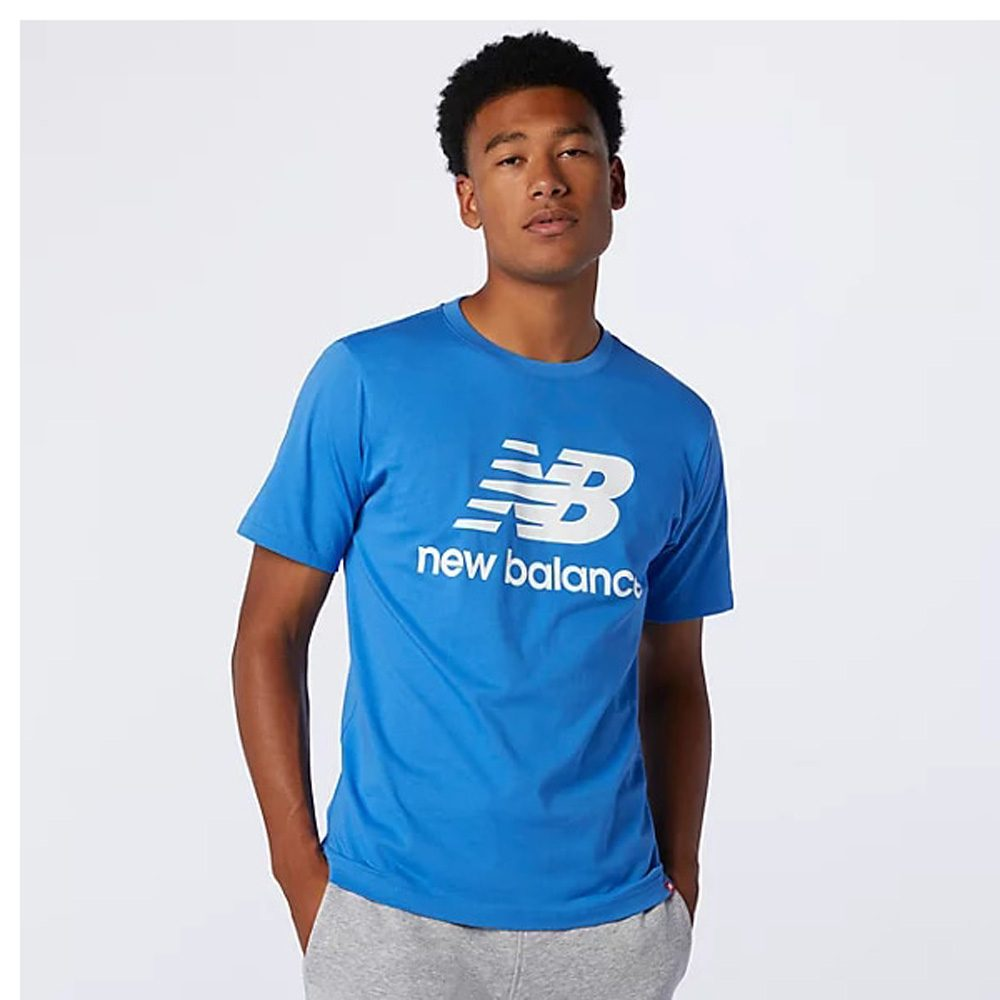 New Balance Essential Stacked Logo T-Shirt