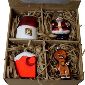 Carhartt WIP Christmas Ornaments 4 Stck Set