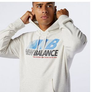 New Balance Athletics Essentials Speed Hoodie Herren Kapuzenpullover