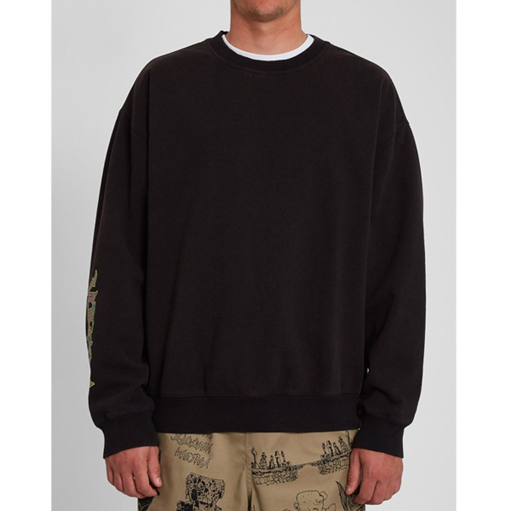 Volcom Black Sounds Sweatshirt Herren