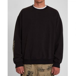 Volcom Black Sounds Sweatshirt Herren