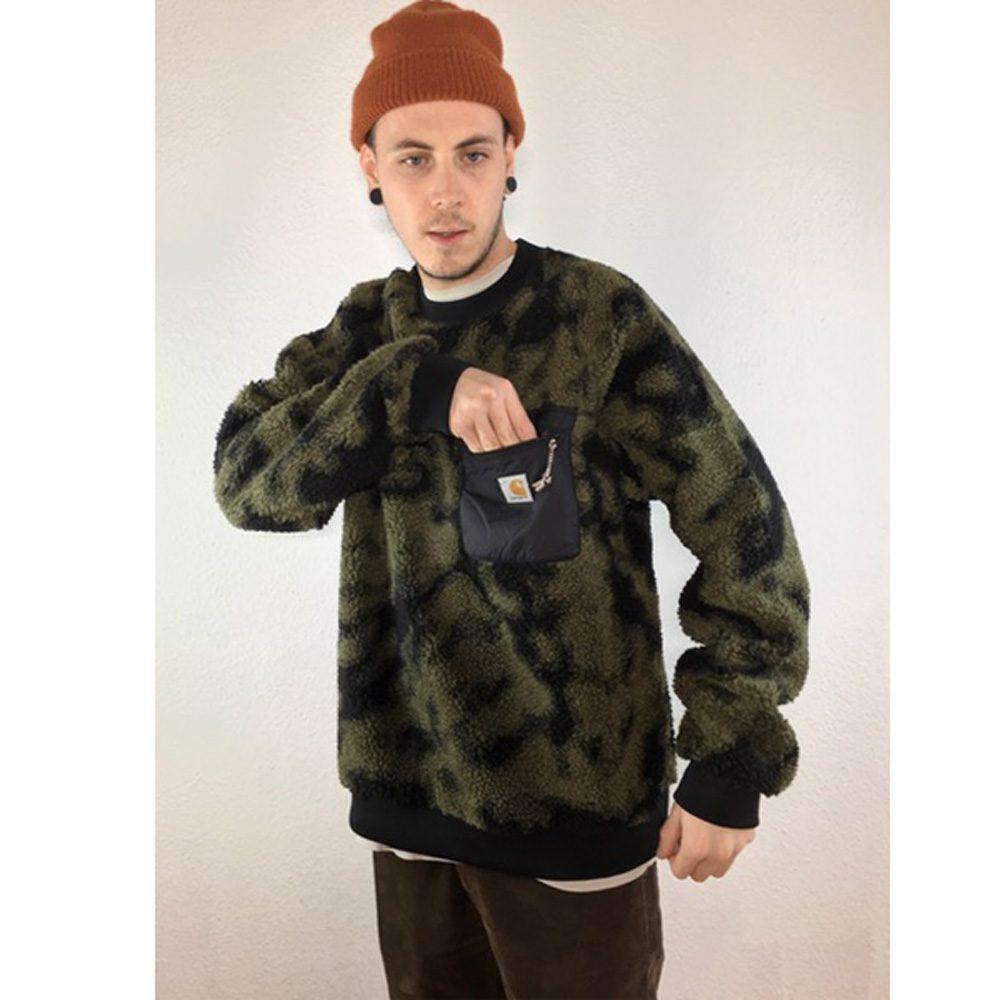 Carhartt WIP Prentis Sweatshirt Herren grün camo