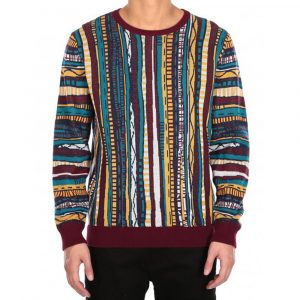 Iriedaily Theodore Knit Herren Feinstrickpullover colored red