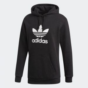 Adidas Trefoil Hoodie Herren schwarz DT7964