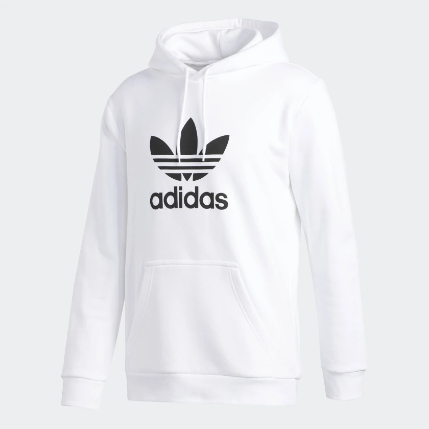 Adidas Trefoil Hoodie Herren weiß