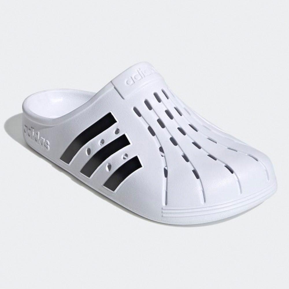 Adidas Originals Adilette Clog weiß/schwarz
