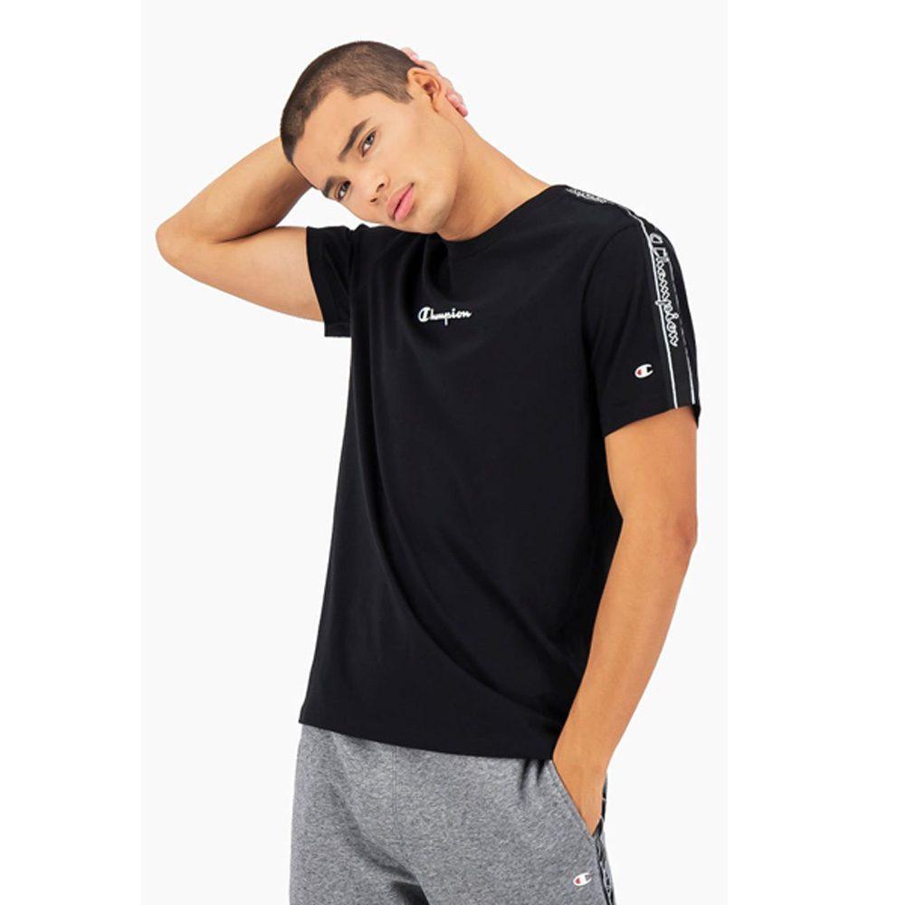 Champion Jersey Jacquard-Logopaspel T- Shirt