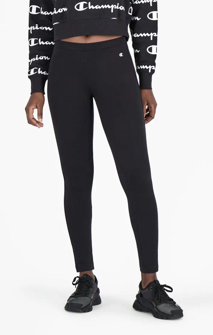Champion Stretch Leggins Damen schwarz