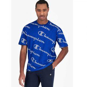 Champion Printlogo Streifeneffekt T- Shirt