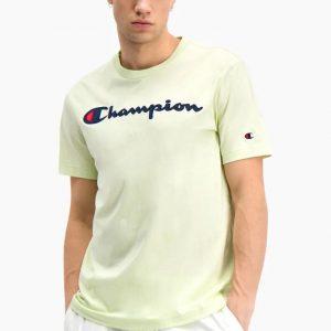 Champion Satin Rundhals T-Shirt Herren grün