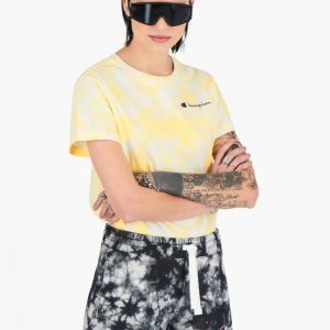 Champion Damen digitalem Batik-Print T-Shirt