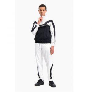 Champion Trainingsjacke im Farbblock- und Streifendesign