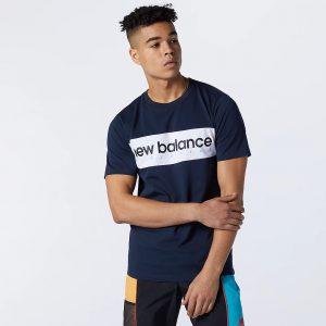 New Balance Linear NB T-Shirt Herren