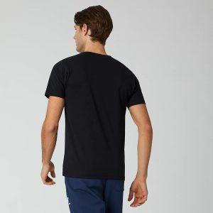 New Balance Essentials Stacked Logo T-Shirt schwarz