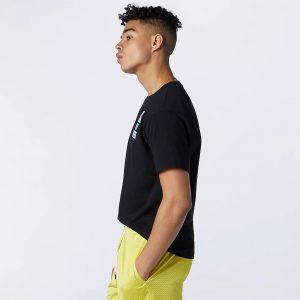 New Balance Essentials Tag T-Shirt schwarz