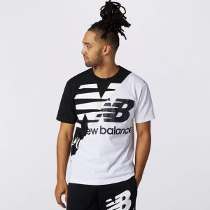 New Balance Athletic Splice T-Shirt Herren
