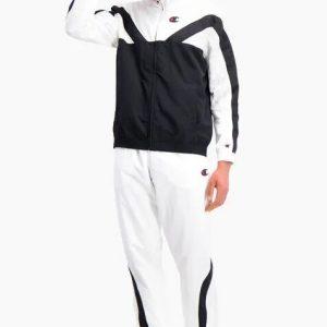 Champion Trainingsjacke Farbblock Streifendesign