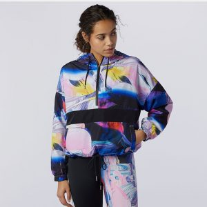 New Balance Athletics Printed Anorak Jacket